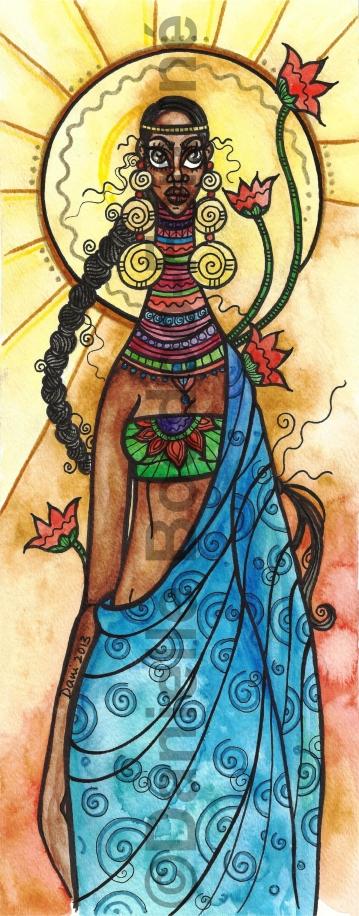 Flowering Lady 2