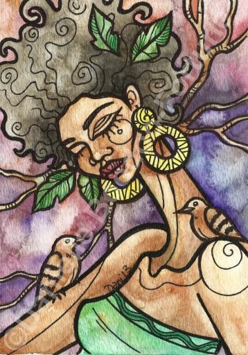 Goddess of Ground Doves 1