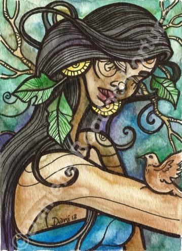 Goddess of Ground Doves 2