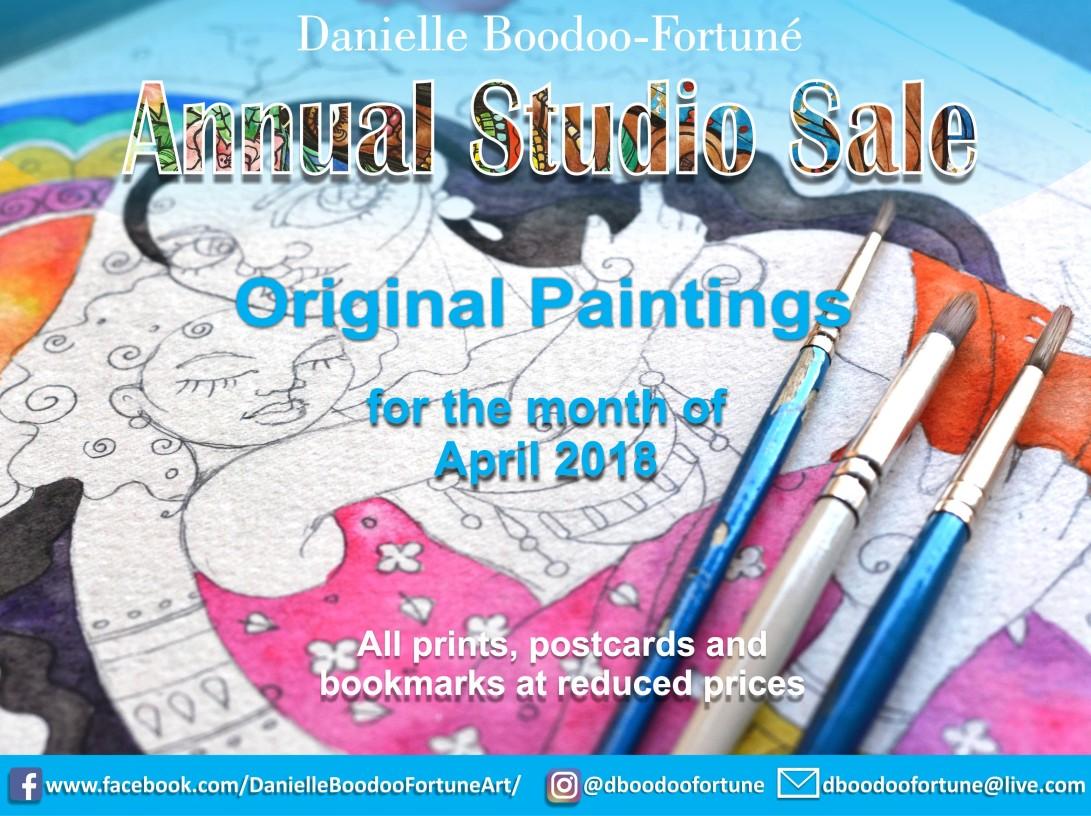 annual studio sale